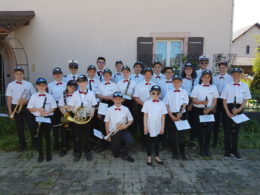Concert de préparation des Cadets